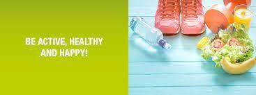 happy healthy active